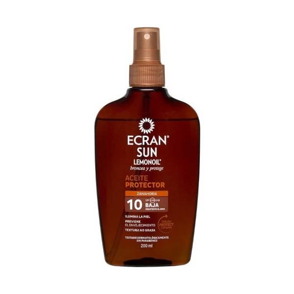 Ecran Sun Aceite Protector SPF10, 200ml