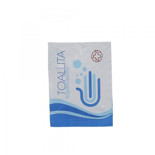 Toallita monodosis higieniza.3gr.500unid