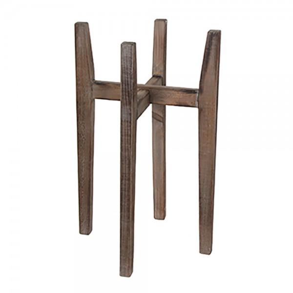 Soporte de madera para macetas ascot 60x38x38cm