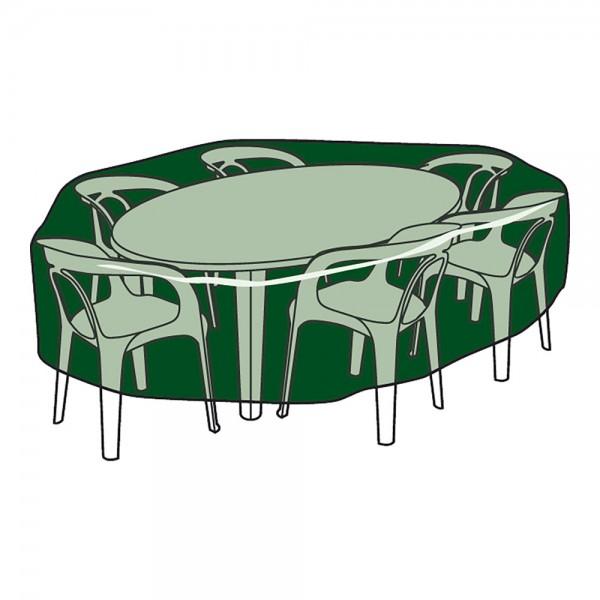 Funda protección cubre mesa y sillas ø205x90cm