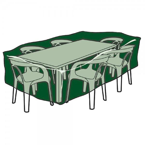 Funda protección cubre mesa y sillas 225x143x90cm  240gr/m2