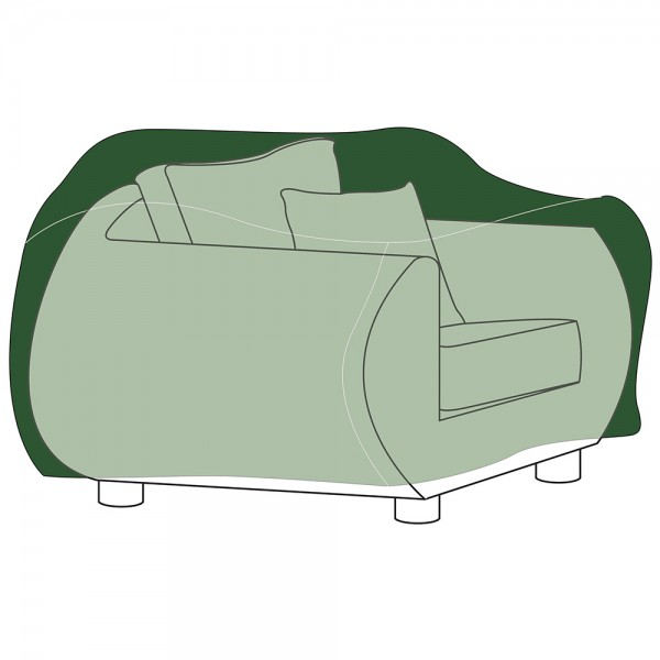 Funda protección cubre sillón 130x90x70cm